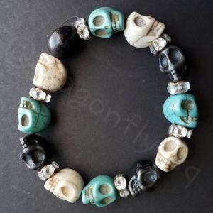 NEW! Skull Fashion Stretch Bracelet